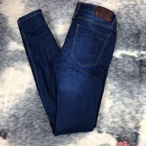 Zara TRF Denim Skinny Jeans 4